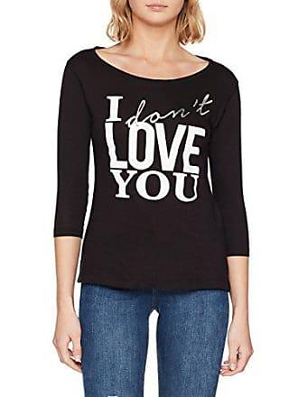 Del Camiseta tamaño Mujer Negro s 5sfc03 Inside Small Fabricante wvqgBgYx