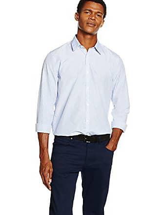 New Stripe Look Camisa Para Small Bengal Hombre Fine Azul fftdrw