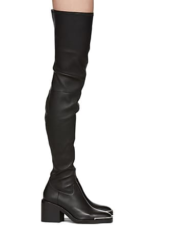 Noires Bottes Alexander Wang Cuissardes Hailey t857tqw