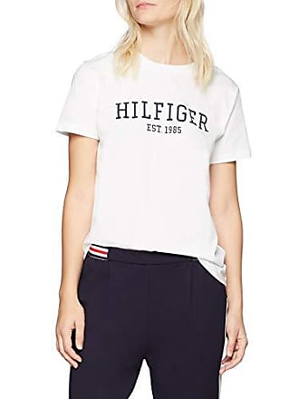 C Lily White classic T Hilfiger Xx Blanc Tommy Tee shirt large 100 Femme nk Ss 5PvEa1an