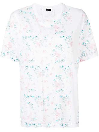 Korte Wit Joseph En Met T Print Mouwen shirt HtPTwx