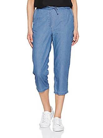bleu Pantalones Azul Chambray Del Para W40 Enfilable Fabricante 08015 50 Pantacourt Damart Mujer talla 60WtwAnH0q