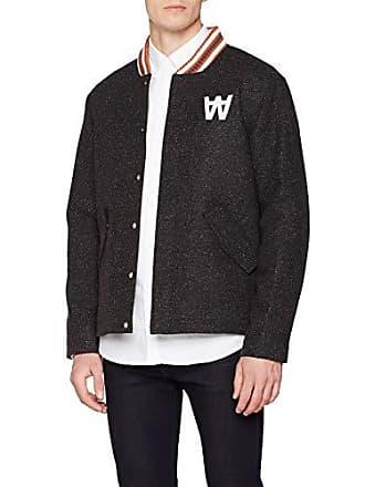 Wood Anthony dark Blouson Large Mehrfarbig Multi Homme Jacket BArwFB