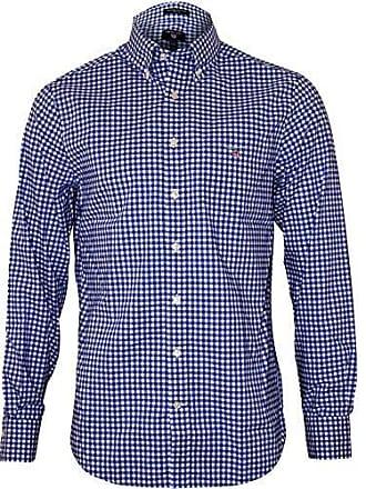 Azul Broadcloth college Camisa The Small Bd Para Reg Blue 436 Hombre Gant Gingham CRqa8