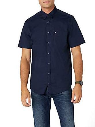 Small Blazer Camisa Hombre Poplin Azul S Hilfiger Tommy Para navy 416 Shirt s Stretch 4qPHf6