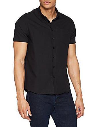 Man For large Ss 001 Oxford X Shirt nero Shirt Nero Regular Jacamo xB4fCYq