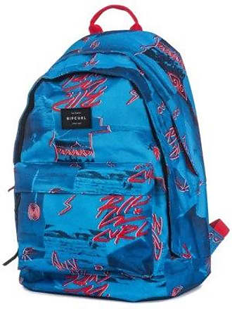 Poster Dome Rip Vibes Backpack Curl Double Blue DWeH9EIY2