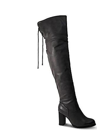 Overknee St18038Grau Boots Gogo Schuhtraum Stiefeletten Heels Stiefel High Blockabsatz Damen dCxhrtsQ