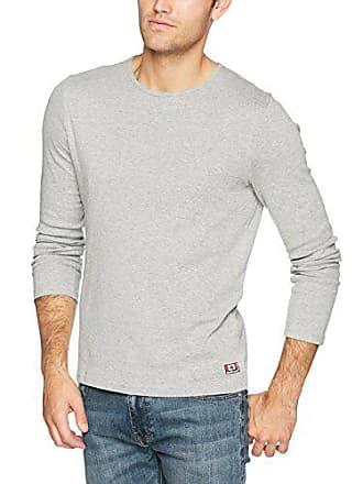 Xx Longsleeve Tailor melange uomo maniche Rib a lunghe Camicia Grigio large da medio 2651 Tom grigio 61EUqww
