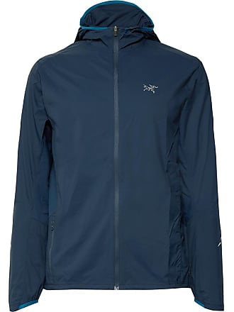 Fit Hooded Lumin Veilance Arcteryx Panelled Mesh Incendo Navy Jacket Slim S7pw6T