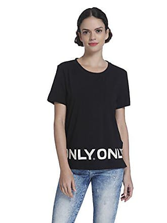 Print S s 40 Box Noir Only Femme taille only Logo Large Story T shirt Fabricant Es black Top Onlolivia O455Eqw