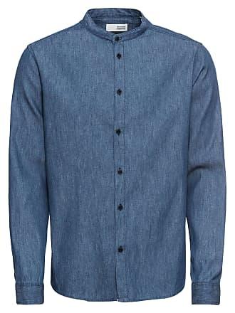 Chambrey« Langarmhemd Ls Normalgrößen Blau Solid Denim »sand gFqTwwR