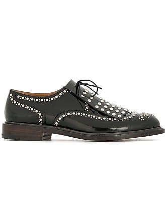 Clergerie Robert Lace Noir Studded up Shoes pYpwq1Sv