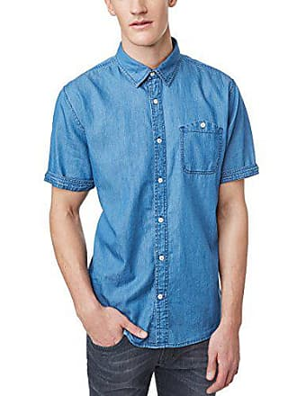 Chemise Jeans Authentic Pioneer Casual 588 Homme denim Bleu Shirt Blue RqtRa