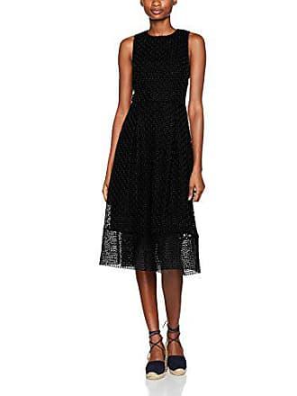 Fiesta Mujer Negro 77 Linear Vestido black Para 42 De Warehouse wpBXtxYqw