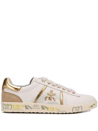 Sneakers White Logoprint Met Premiata Wit gqqwP