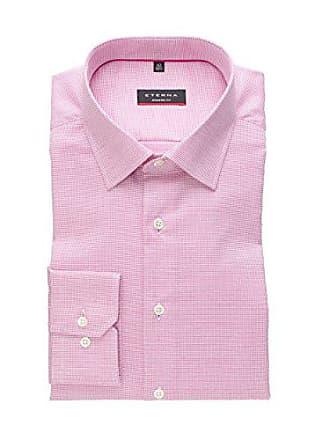52 Herren Strukturiert Modern Langarm 40 M Natté Hemd x18p Pink Fit Eterna 8131 8dqZY8