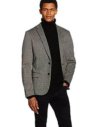 W40l32 Para Look mid Grey New Hombre Grau Blazer Fleck Ponte Chaqueta dvwq8Xw