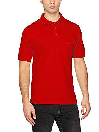 Pocket Workwear Red Nicholson Homme amp; Men´s Large Polo Rot James XBvgnUOx