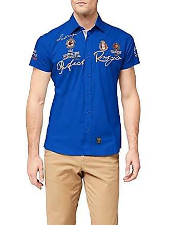 style Perfekt herstellergröße Herren Cm Kurzarm Bridge Xxl R41604a Freizeithemd Hemd Red Regular R Fit 45 kragenweite gS0wn6nx