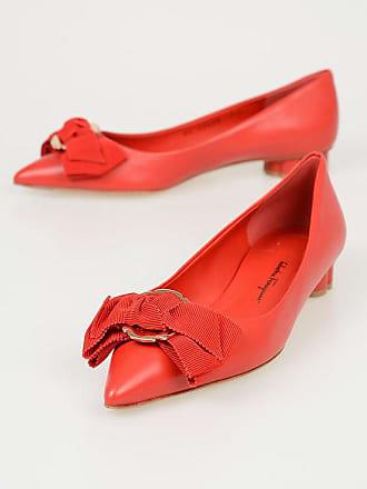 Talla 5 Salvatore 5 Ferragamo 20 Leather Ballet Size Flats 8wn0POkZNX