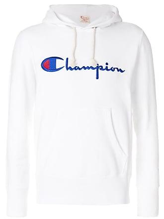 Weiß Mit Champion Kapuzenpullover Logo Champion Mit Champion Kapuzenpullover Weiß Logo Kapuzenpullover vgwFdgq