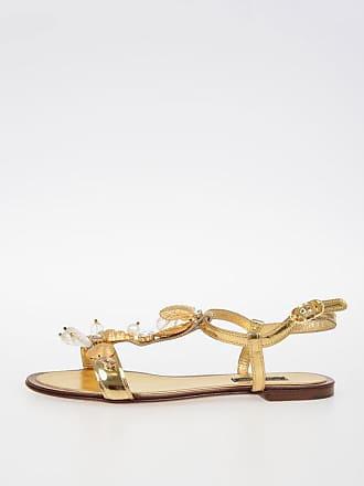 Bianca Jewel Sandals amp; Gabbana Size 5 37 Leather Dolce pZCTqPxwp