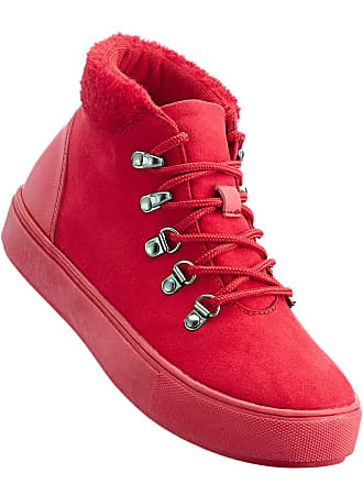 Plateformes À Lacets Rouge Boots Bonprix Femme Pour qA5wxnP4fZ