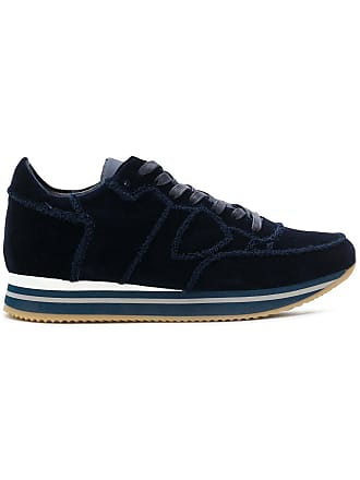 Model Philippe Sneakers Lace up Bleu dOwOrq