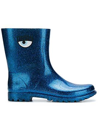 Boots Ferragni Printed Glitter Bleu Eye Chiara UPAaxnqU