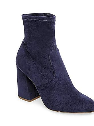 Us Bootie 5 7 Steve Womens Expert Madden Dress Navy U78IB