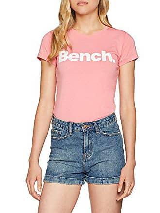 T shirt Slim Tee Logo Bench Damen 7w1q88