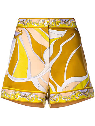 Emilio Pucci Pucci Shorts PrintGelb Shorts Mit Mit PrintGelb Emilio f7gv6yYbI