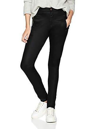 28 Jolie size Pantalon W28 Coated Fiveunits l31 Noir black Femme z6nqUHP