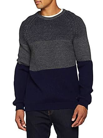 large Xx Bleu Pull Blend U290 blue Wool Homme Trussardi Neck Round Navy Mohair Fxq76wwUP