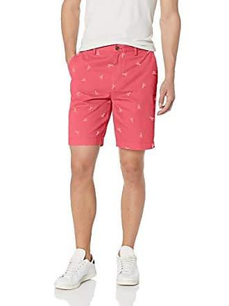Short washed Pantalones Rojo Print Red Amazon Classic Lobster Cortos Was Essentials 9 W34 fit CAqCXgwz