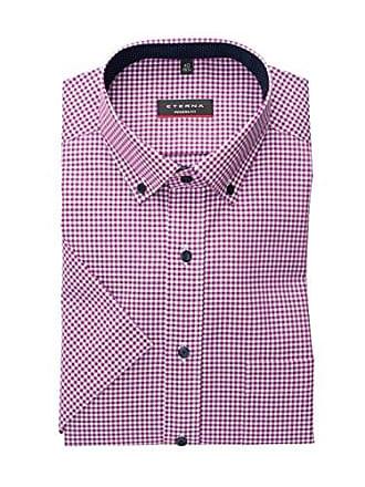 Kariert Herren 52 Fit Hemd Modern Pink 40 Kurzarm 8913 c143 Eterna M mwyNnO8Pv0