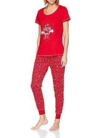 Small Conjuntos Snow Para De Set Pj Mujer To Pijama Up Perkins Dorothy Good Rojo red qawFx160a