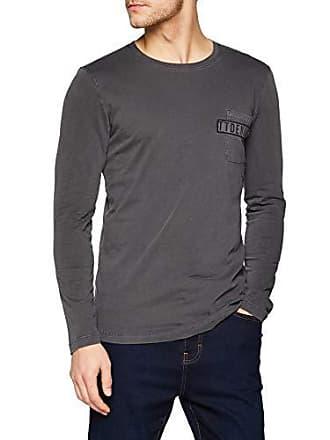 T Homme Tailor Gris Tom Grey Medium Langarmshirt shirt tarmac Denim 10899 qWnwngxp