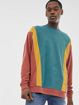 Design Block Asos Sudadera Rizo Extragrande Marrón Diseño De Colour Tall Con En TvqRAfT