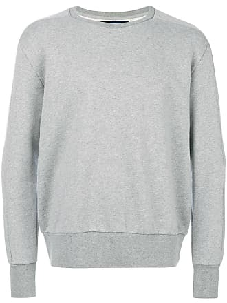 Selection Sweatshirt Mit RundhalsausschnittGrau Linear Natural Aq4R3L5j