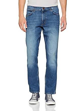 Jeans 32f 38w Blue authentic Hombre Greensboro l30 Wrangler Azul Para 5Fgn1q0v