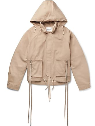Ambush Oversized Beige Cotton canvas Jacket w0wvq1T
