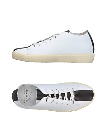 Chaussures amp; Leather Tennis Sneakers Crown Basses UzWRqp