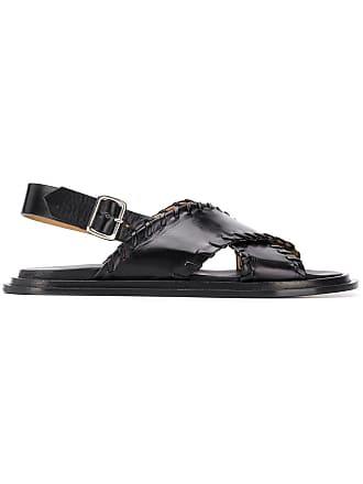 croisées sandales Noir brides Sander à Jil 0OwqIvP