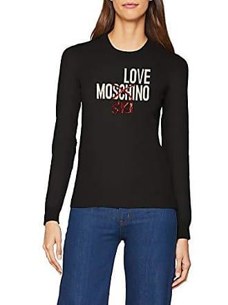 38 C74 Love Suéter Para 36 Moschino Fabricante black Del Jumpers Mujer talla Negro 74qFxRw7