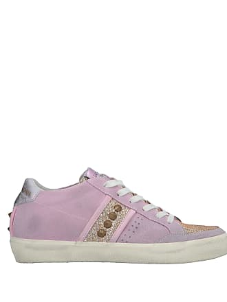 Leather amp; Tennis Chaussures Crown Sneakers Basses Cwnxq4v6AC