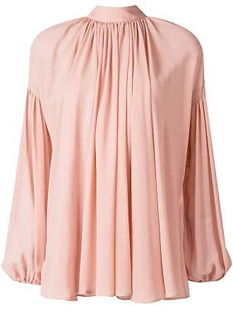 sleeve Long Stella Flared Mccartney Blouse Rose q6ETaxw