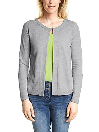 Gris cool 11349 Cárdigan Silver Para Melange Cecil 312122 Large Mujer p7OHfWcgq