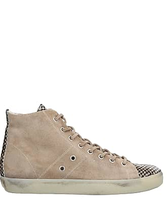 amp; Sneakers Tennis Crown Leather Montantes Chaussures W0qwa881xR